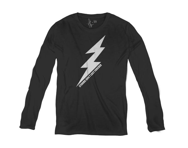 Men's Long Sleeve T Shirt - Bolt
