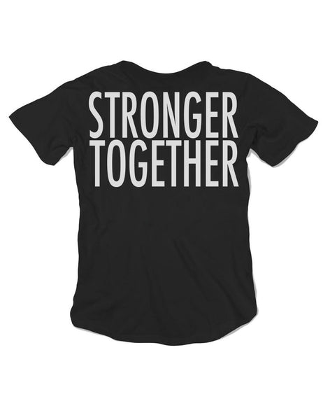 Women's Boy T Shirt - Stronger Together