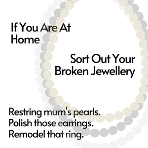 jewellery repairs and jewellery cleaning