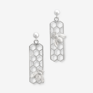 BUSY BEE EARRINGS - Connie Dimas Jewellery