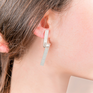 CIRCA RIBBON EARRINGS - Connie Dimas Jewellery