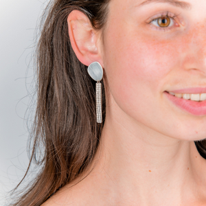 COLUMN EARRINGS - Connie Dimas Jewellery