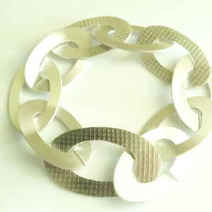 Fabric texture bracelet - Connie Dimas Jewellery