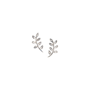 VICTORY LEAF STUDS - Connie Dimas Jewellery