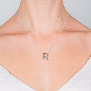 YOUR LETTER NECKLACE - Connie Dimas Jewellery