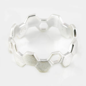 HIVE STACKABLE RINGS - Connie Dimas Jewellery
