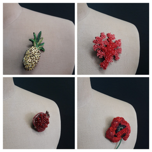 BROOCHES - Connie Dimas Jewellery