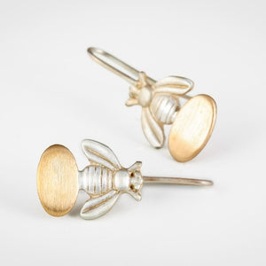 BEE GOLD EARRINGS - Connie Dimas Jewellery