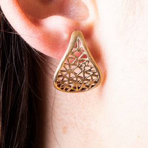 Cut-it-out earings - Connie Dimas Jewellery