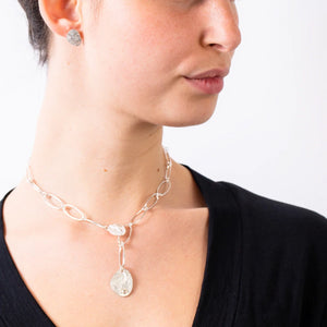 CLIO LINK DIAMOND NECKLACE - Connie Dimas Jewellery
