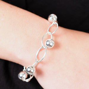 ORB LINK BRACELET - Connie Dimas Jewellery
