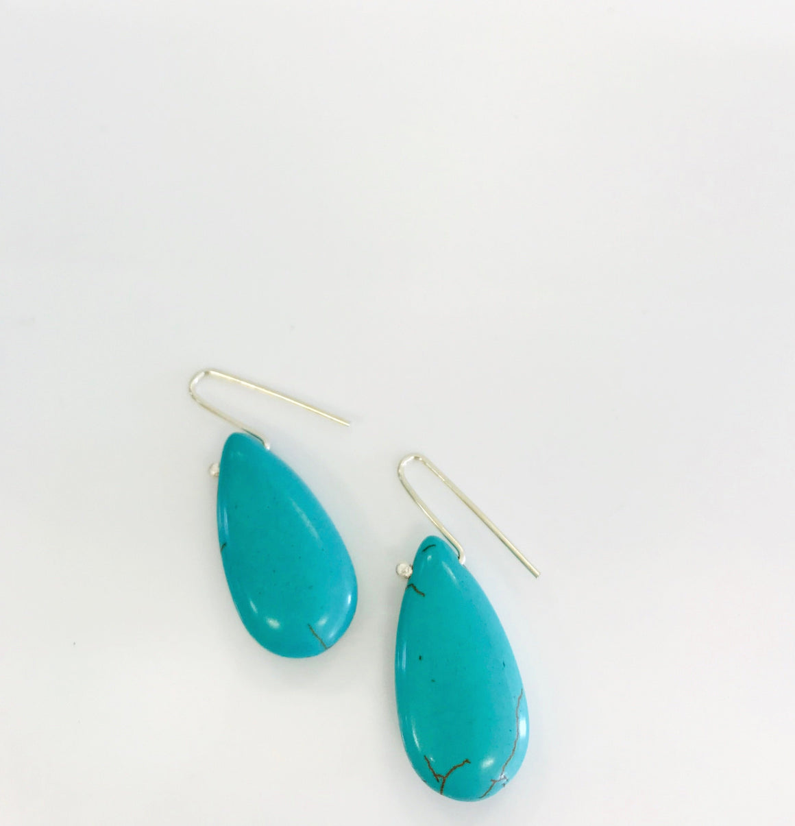 Turquoise teardrops - Connie Dimas Jewellery
