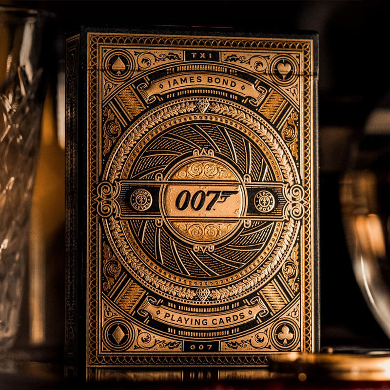 baraja de cartas james bond