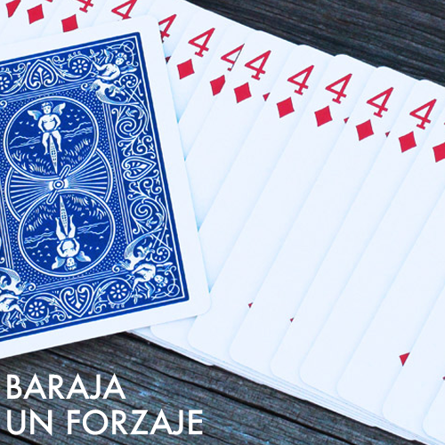 Baraja Un Forzaje (Bicycle)- Azul