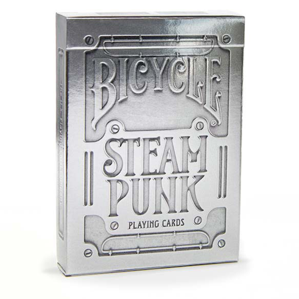 Bicycle Steampunk- Plateado