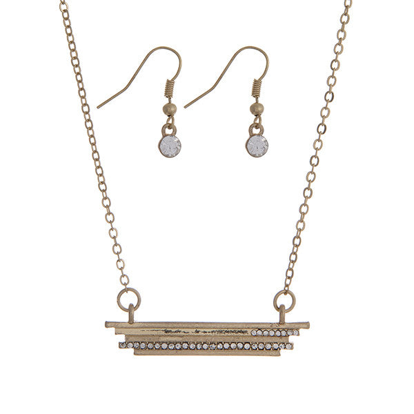 Bar Necklace Set