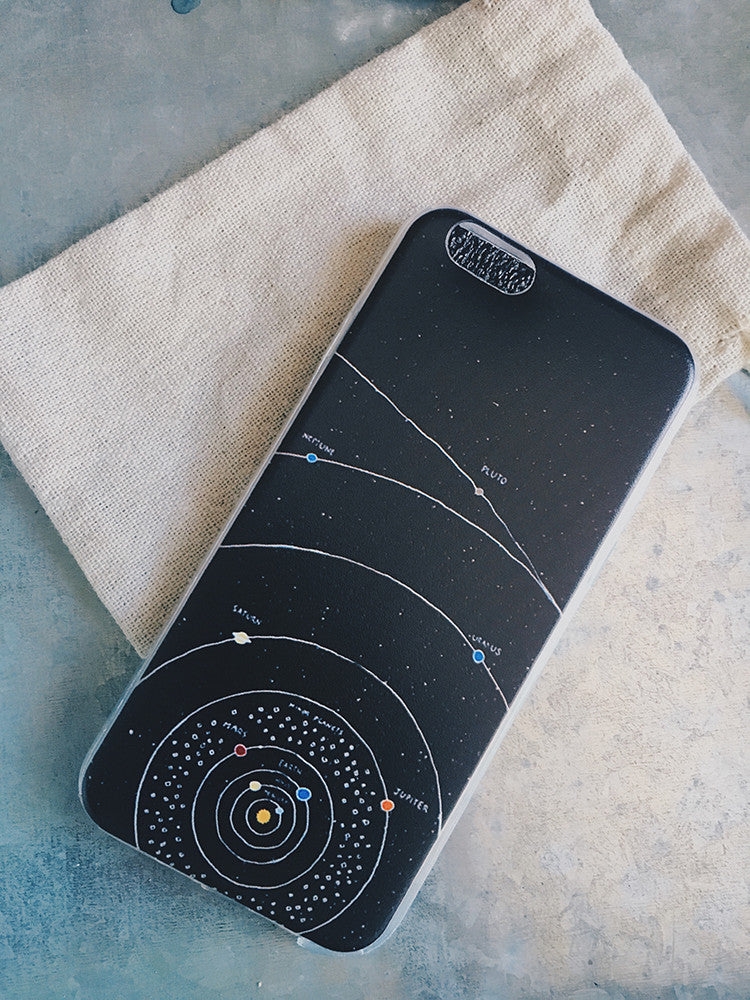 Solar System Phone Case