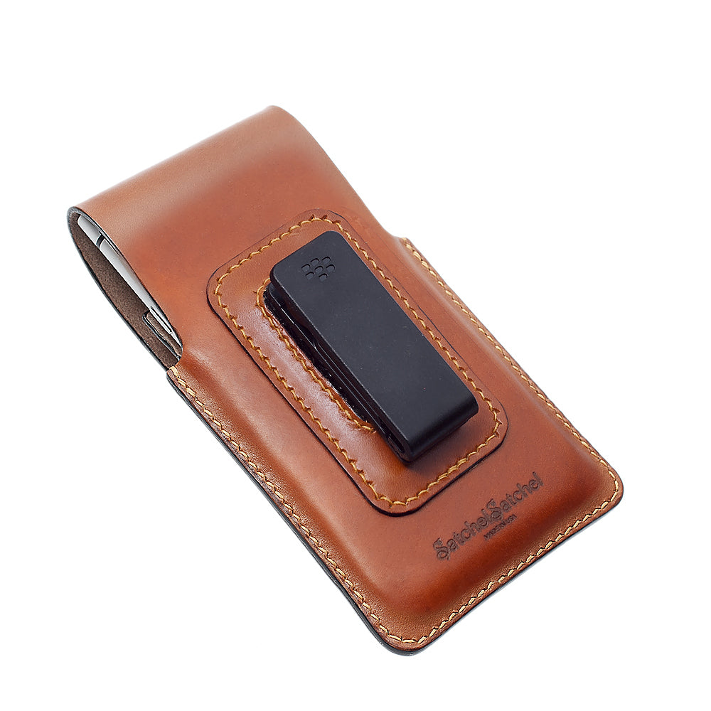 quality design 906a9 912c4 Blackberry KEYone Leather Case in Saddle Brown