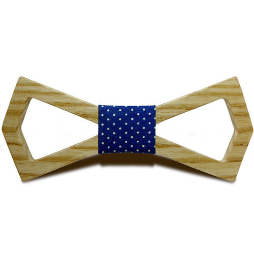 Slash Wooden Bow Tie (20 Colors)