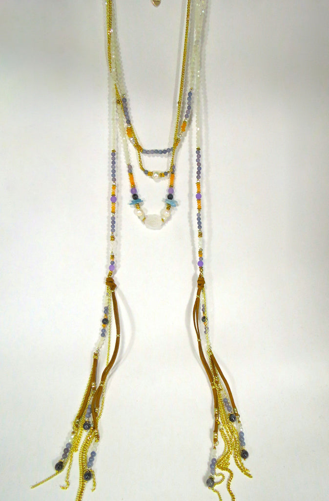Nakamol Multi-strand Tassel Necklace