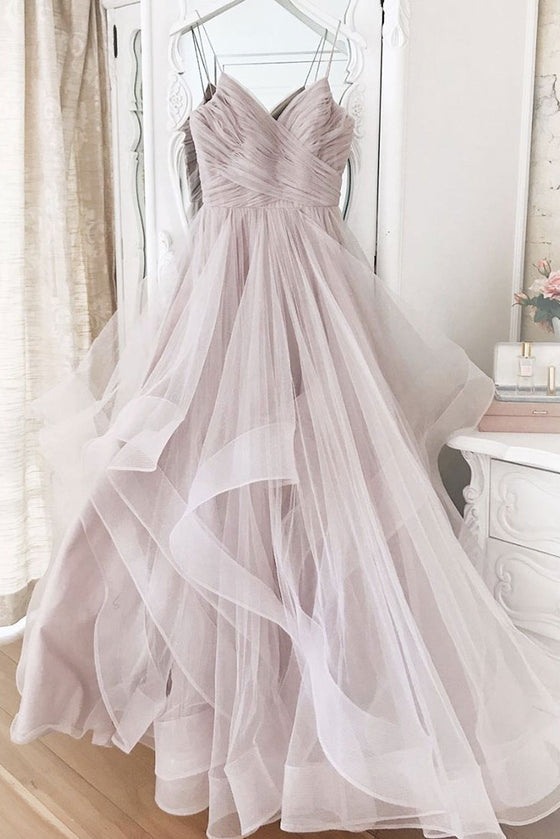 Elegant sweetheart tulle formal dress tulle formal dress