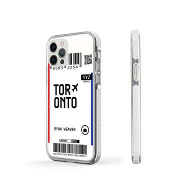 Limited77 'Toronto' Clear iPhone Case