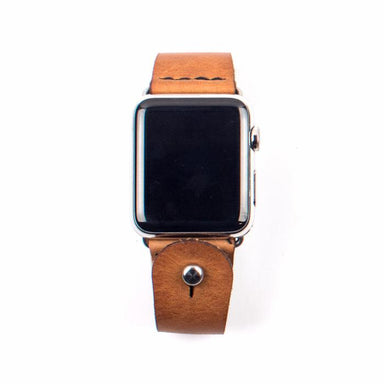 Form Function Form Raw Undyed Button-Stud Apple Watch Band 42/ 44 mm