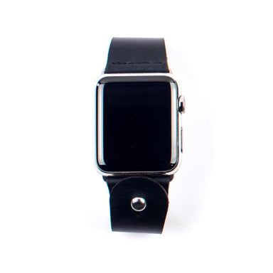 Form Function Form Black Button-Stud Apple Watch Band 38/ 40 mm