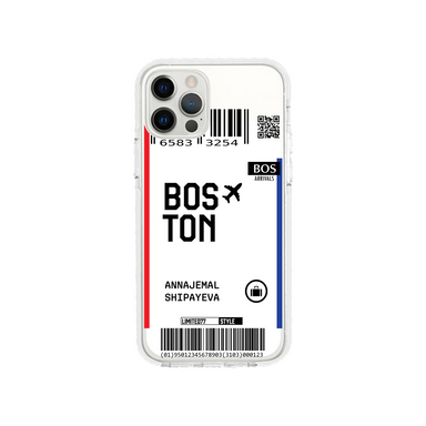 Limited77 'Boston' Clear iPhone Case