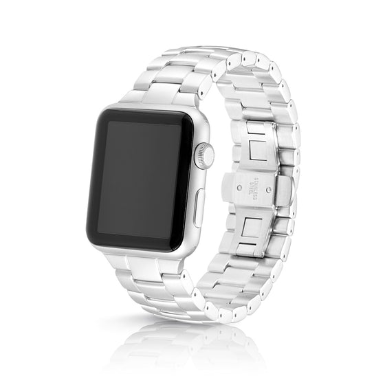 Juuk Velo Silver Apple Watch Band