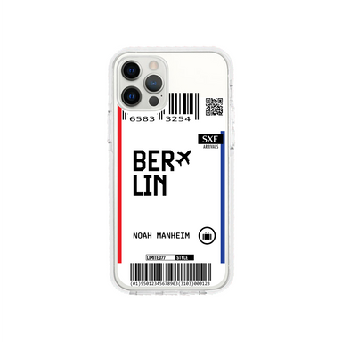 Limited77 'Berlin' Clear iPhone Case