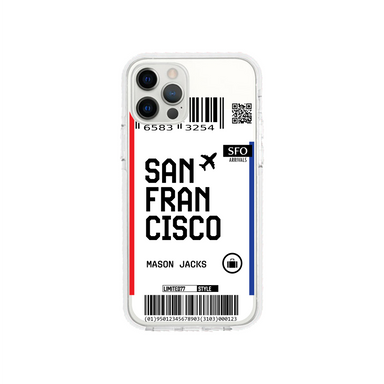 Limited77 'San Francisco' Clear iPhone Case