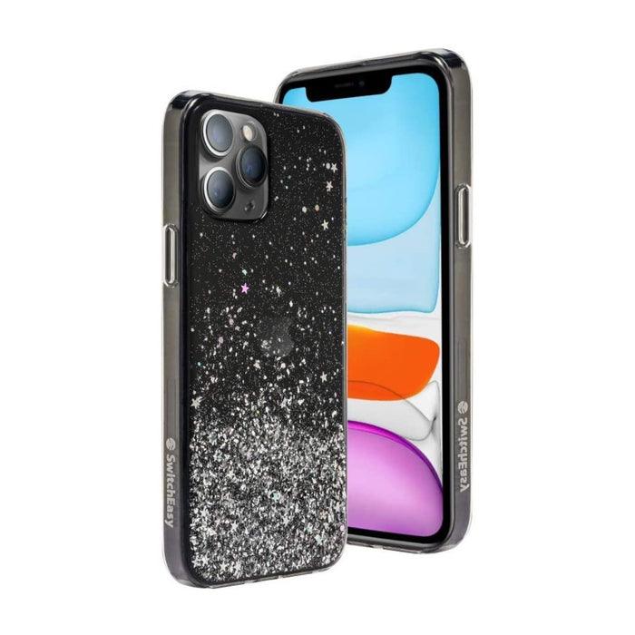 SwitchEasy Starfield (Transparent Black) iPhone 12 Mini, 12/ 12 Pro, 12 Pro Max Case
