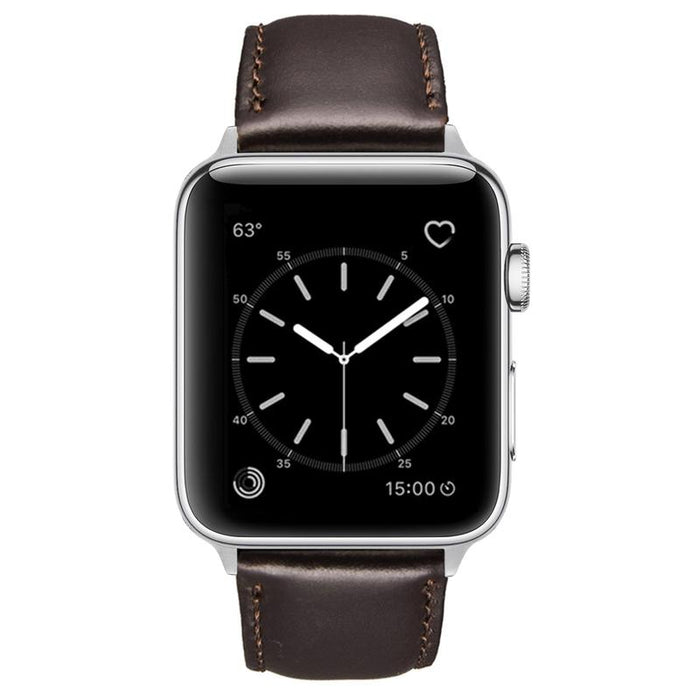 Speidel Genuine Luxury Leather Apple Watch Band