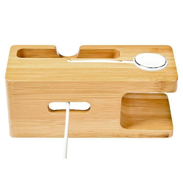 Limited77 Bamboo Wooden iPhone Charging Stand