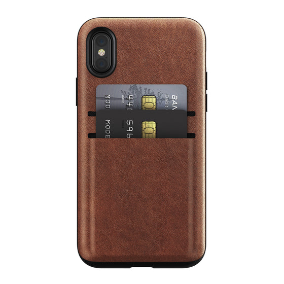Nomad Wallet Case for iPhone X, XS