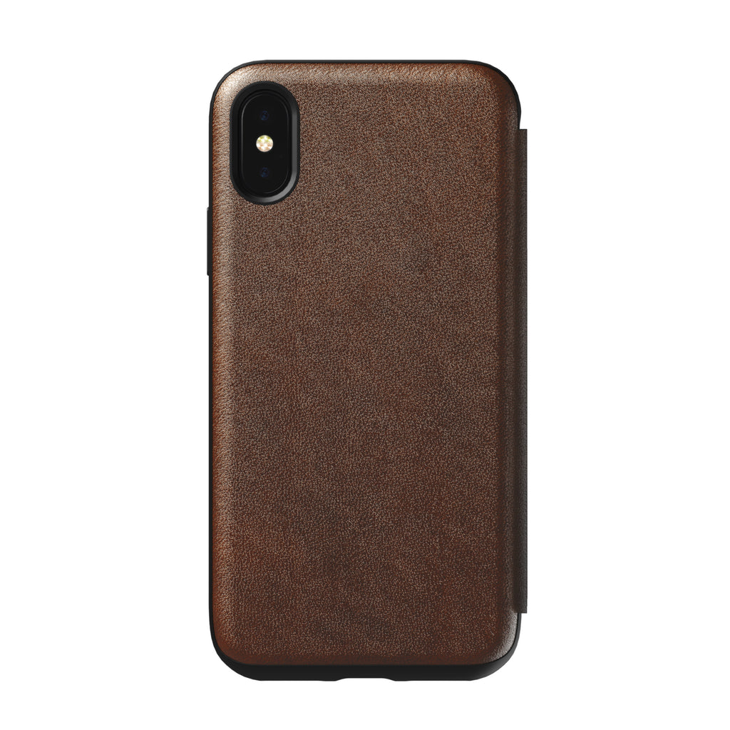 Nomad Rugged Folio Brown for iPhone X, XS