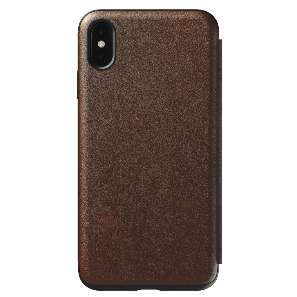 Nomad Rugged Folio Brown for iPhone XS Max