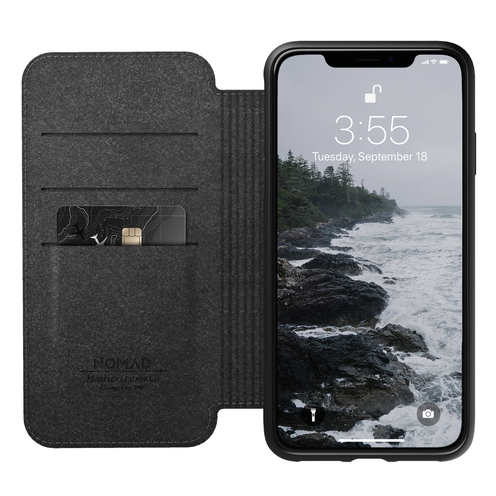 Nomad Rugged Folio Black for iPhone XS Max