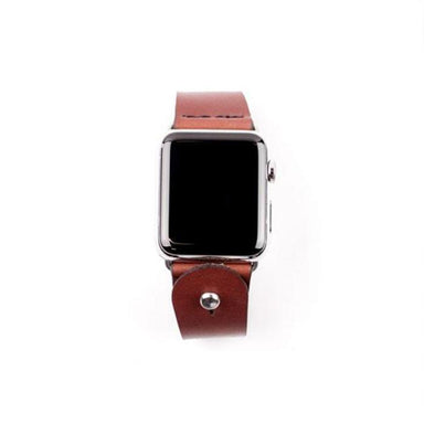 Form Function Form Cognac Button-Stud Apple Watch Band 42/ 44 mm