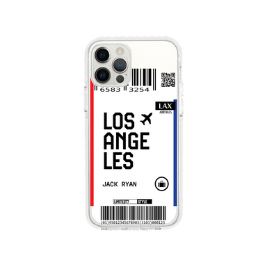 Limited77 'Los Angeles' Clear iPhone Case