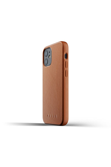 Mujjo Full Leather Case for iPhone 12/ 12 Pro