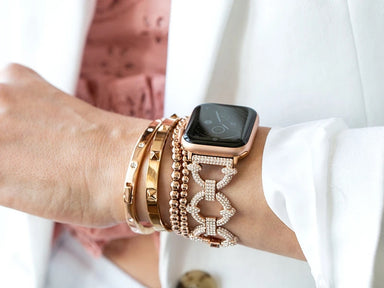 Goldenerre Crystal Pavé Apple Watch Band