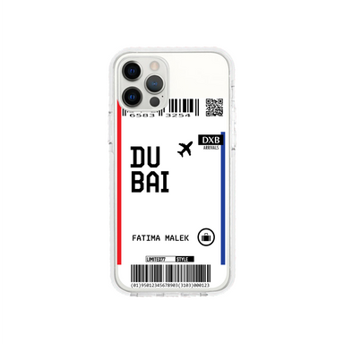 Limited77 'Dubai' Clear iPhone Case