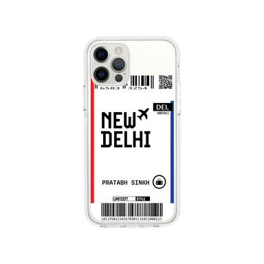 Limited77 'New Delhi' Clear iPhone Case