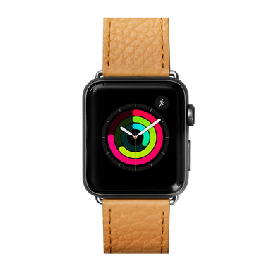 LAUT Milano Leather Apple Watch Band