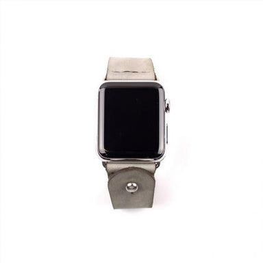 Form Function Form Alpine Gray Button-Stud Apple Watch Band - Cult of Mac Watch Store