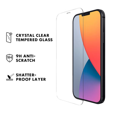 LAUT Prime Glass Screen Protector iPhone 12 Series