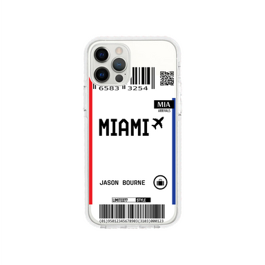 Limited77 'Miami' Clear iPhone Case