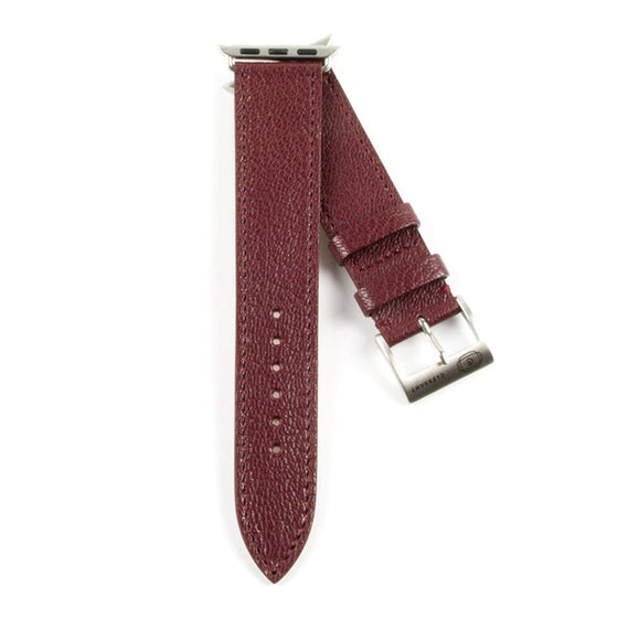Clessant Burgundy Madras Apple Watch Band